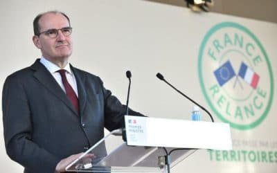 Plan de relance dans l'Allier, Jean Castex évoque le numérique et le monde d'après-épidémie.