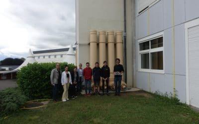 Le jardin du Collège Antoine De St-Exupéry à l'abri de la sécheresse !